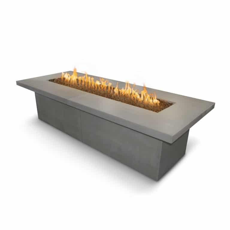 Newport Fire Table Natural Gray