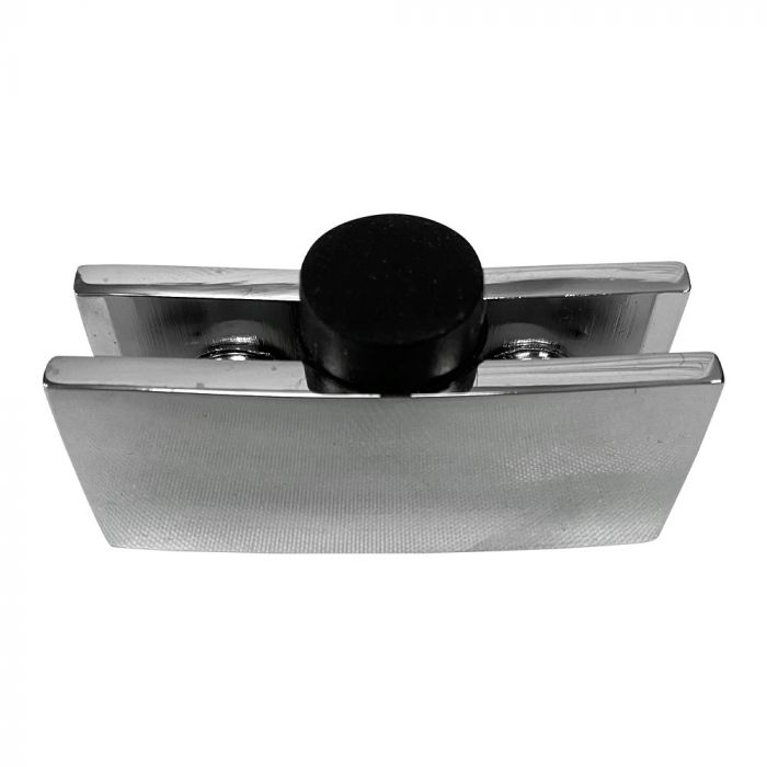 Replacement Flame Guard Curved Bracket with Foot Top View