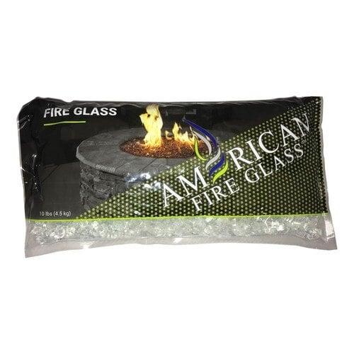 "10 lb Bag of Classic Starfire 1/2"" Fire Glass"