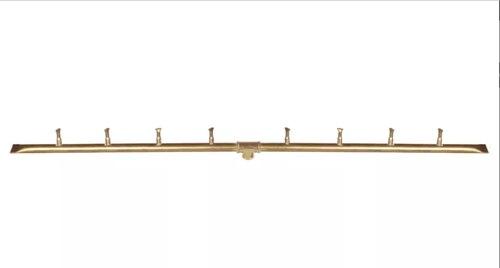 Linear Light Brass Bullet Burner 36 Inches