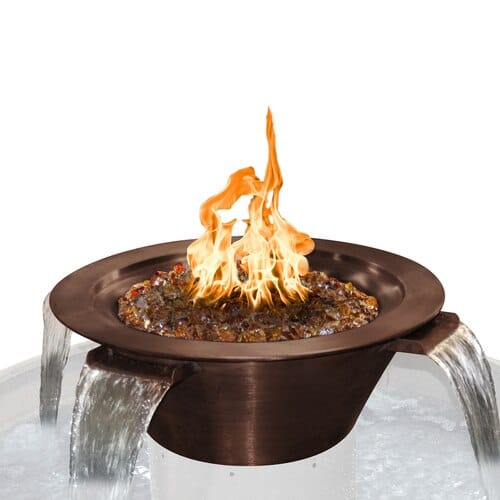 Cazo 4-Way Copper Fire and Water Bowl