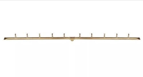 Linear Light Brass Bullet Burner 48 Inches