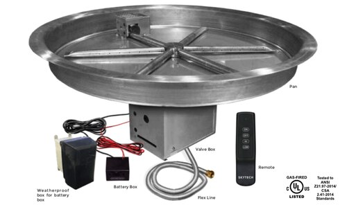 Round Pan For Fire Pit Parts List