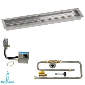Linear Drop In Tray with Electronic Ignition