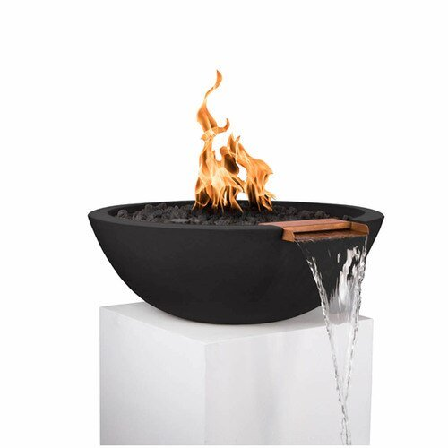Sedona Fire and Water Bowl - BLACK