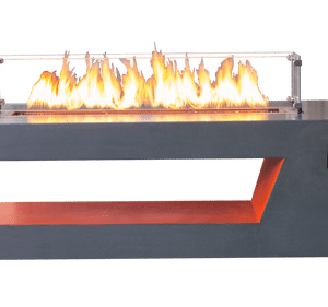 Resonate Sound Reactive Fire Pit with Dual Color Finish