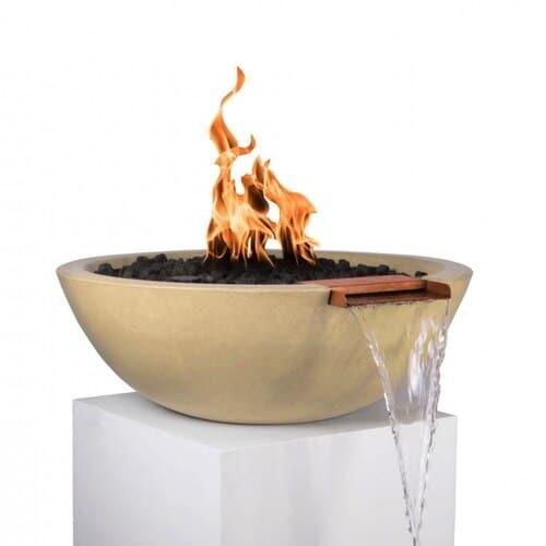Sedona Fire and Water Bowl - VANILLA