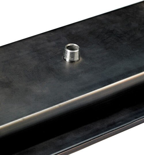 Gas Input On Underside Of Fire Pit Tray