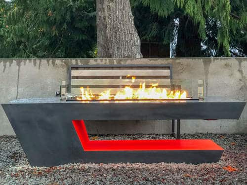 The Resonate Fire Pit Is Ideal For Outdoors
