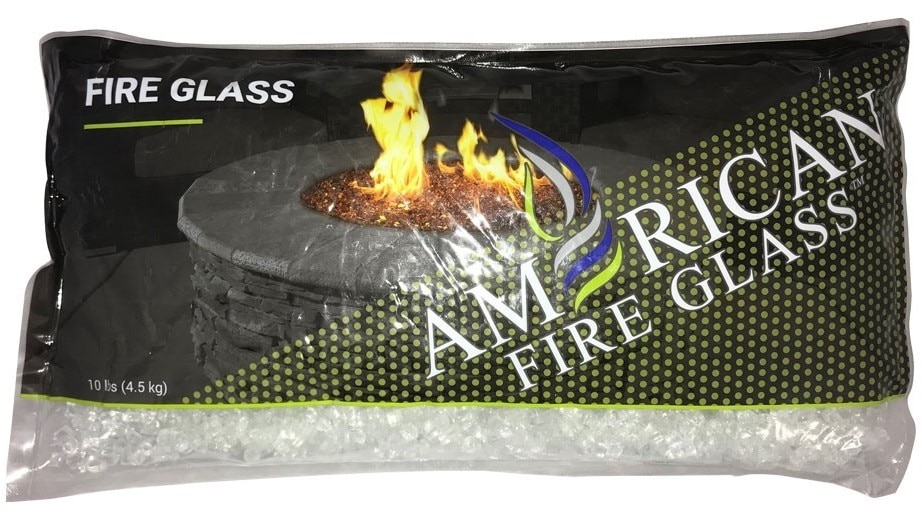 A 10 lb Bag of Starfire Classic Fire Glass
