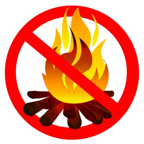 Fires not permitted