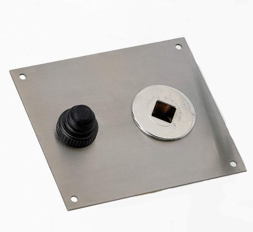 Optional Mounting Plate for Key valve and Push Button Ignition
