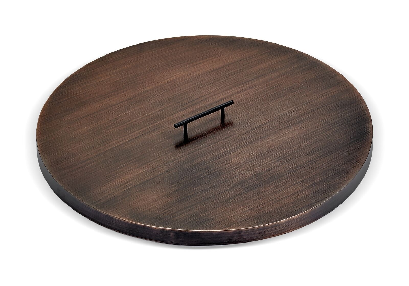 Bronze Round Fire Pit Tray Lid