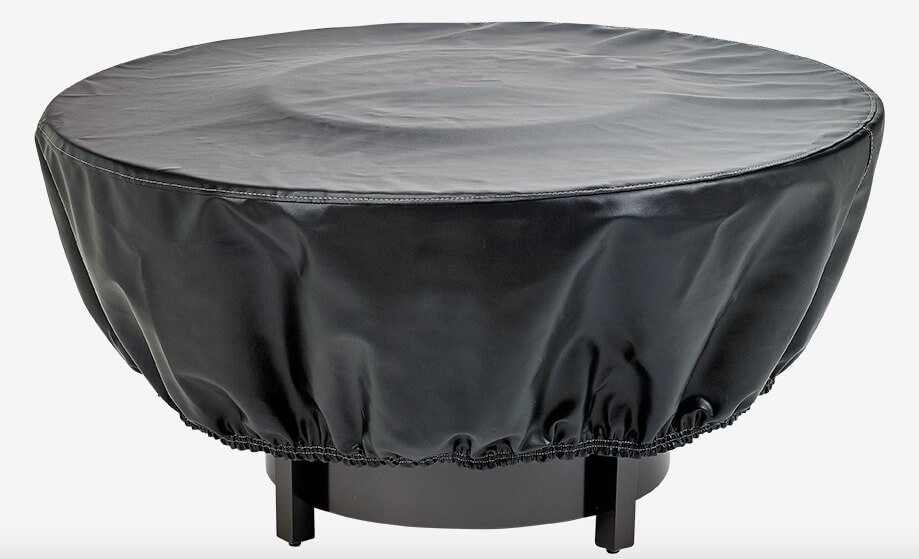 A Typical Fabric Fire Pit Cover