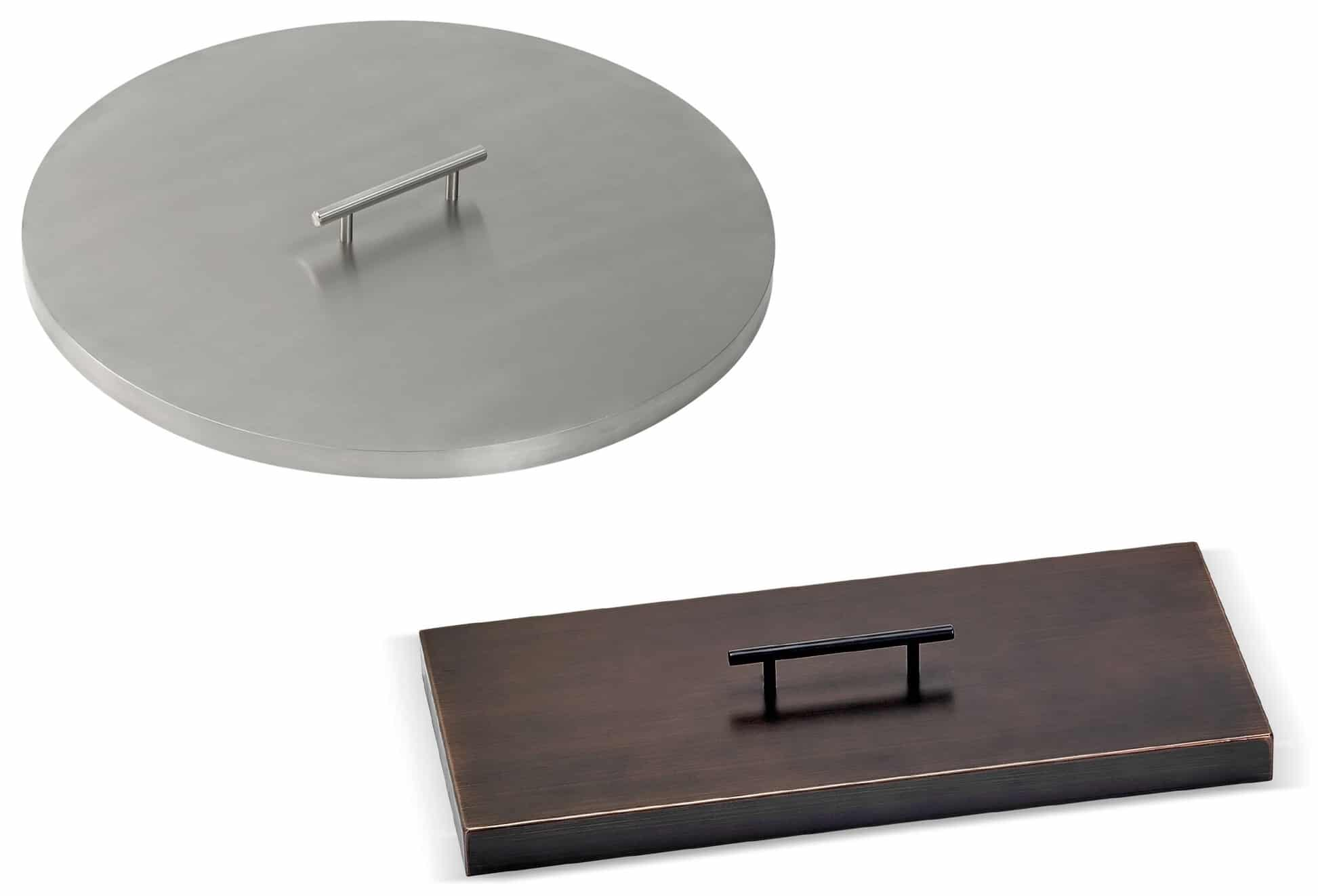 Steel Covers for Fire Pits