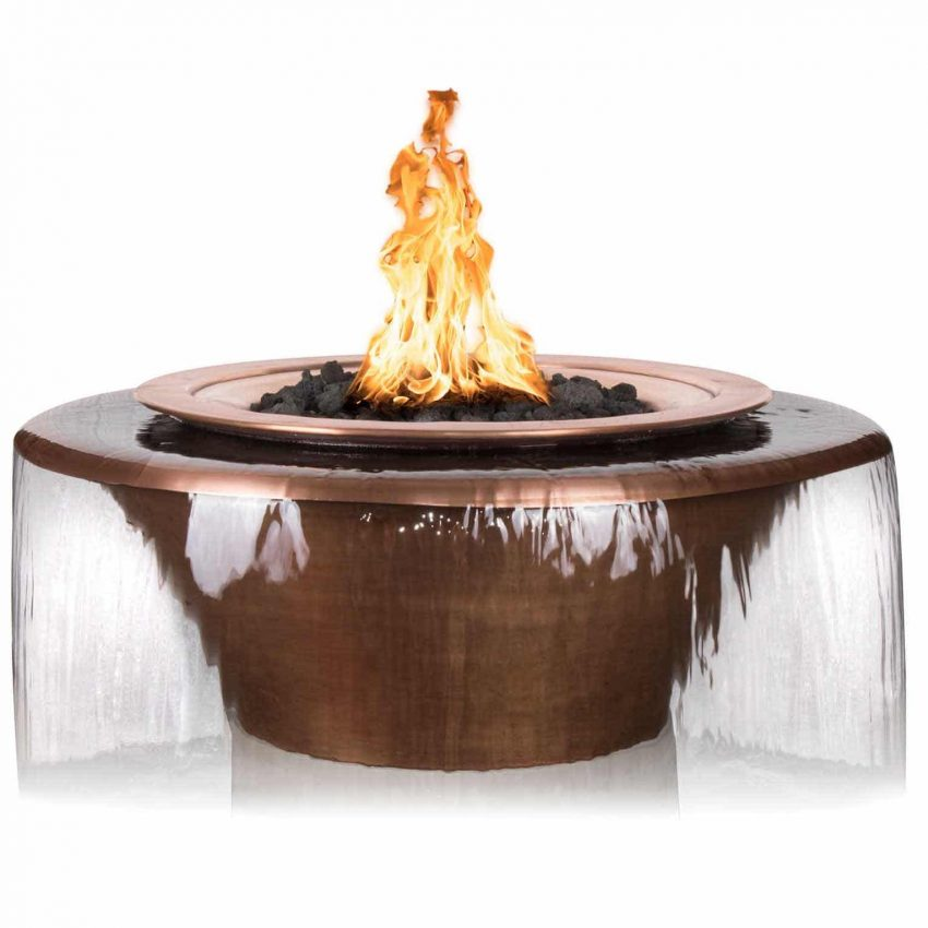 Cazo Copper 360 Fire and Water Bowl