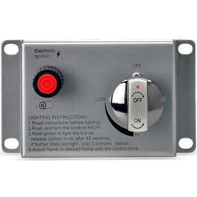 Flame Sensing Control Panel